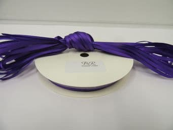 Orchid Bright Purple Satin ribbon Double sided 3mm 7mm 10mm 15mm 25mm 38mm 50mm Roll Bow Roll